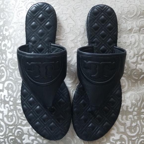 8597bb6a8 NIB Tory Burch fleming flat thong sandal sz 8